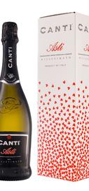 Вино игристое белое сладкое «Canti Asti Millesimato» 2017 г., в подарочной упаковке