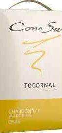 Вино столовое белое полусухое «Cono Sur Tocornal Chardonnay» 2015 г.