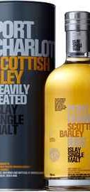 Виски шотландский «Bruichladdich Port Charlotte Scottish Barley» в подарочной упаковке