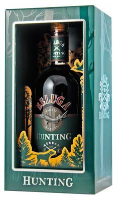 Ликер «Beluga Hunting Herbal» в подарочной упаковке