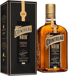 Ликер «Cointreau Noir» в подарочной упаковке