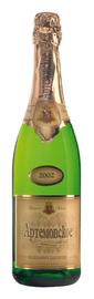 Вино игристое белое полусухое «Артемовское»