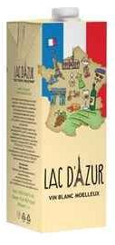 Вино столовое белое полусладкое «Lac D'Azur (Tetra Pak)»