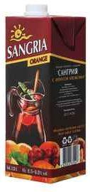Винный напиток «Сангрия с ароматом апельсина»