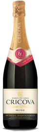 Вино игристое выдержанное розовое брют  «Сricova Brut Roz» серия Кюве Престиж