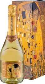 Вино игристое белое брют «Schlumberger Cuvee Klimt Der Kuss Brut» 2013 г., в подарочной упаковке