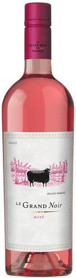 Вино розовое сухое «Le Grand Noir Rose» 2017 г.