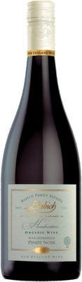 Вино красное сухое  «Babich Family Estates Headwaters Organic Pinot Noir» 2015 г.