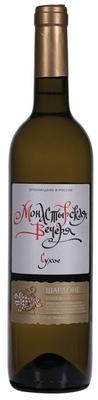 Вино столовое белое сухое «Монастырская Вечеря Шардоне»