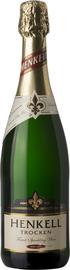 Вино игристое белое сухое «Henkell Trocken»