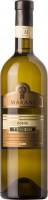 Вино белое полусладкое «Marani Tvishi»