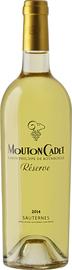 Вино белое сладкое «Mouton Cadet Reserve Sauternes»