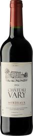Вино красное сухое «Chateau Vary»