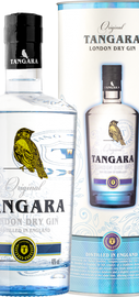 Джин «Tangara London Dry Gin» в тубе