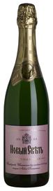Российское шампанское выдержанное розовое полусухое «Новый Свет»