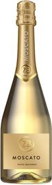 Вино игристое белое полусладкое «ZB wine MOSCATO»