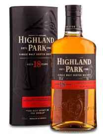 Виски шотландский «Highland Park 18 Years Old» в подарочной упаковке