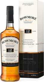 Виски шотландский «Bowmore 12 years» в подарочной упаковке