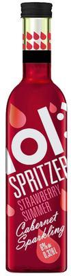 Напиток винный газированный красный полусладкий «Strawberry Summer»