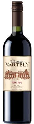 Вино красное сухое «Chateau Vartely Merlot»