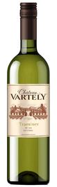 Вино белое сухое «Chateau Vartely Traminer»