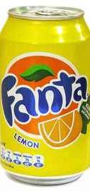 Газированный напиток «Fanta Lemon »