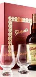 Виски шотландский «Glenfarclas 15 years» в подарочной упаковке с 2-мя стаканами