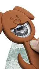 Открывалка «Woof! коричневая магнитная»