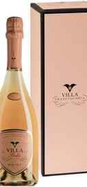Вино игристое розовое брют «Boke Rose Brut Franciacorta » в подарочной упаковке