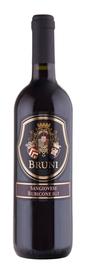 Вино красное полусухое «Bruni Sangiovese» 2017 г.
