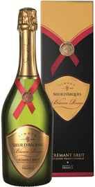 Вино игристое белое брют «Blason Rouge Cremant de Limoux» в подарочной упаковке