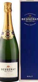 Шампанское белое брют «Besserat de Bellefon Brut Grande Tradition» в подарочной упаковке