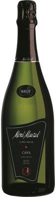 Вино игристое белое брют «Cuvee Noire Cava Brut»