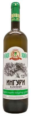 Вино столовое белое полусладкое «Ингури Марочный»