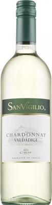 Вино белое сухое «SanVigilio Chardonnay» 2016 г.
