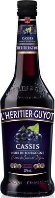 Ликер «L'Heritier-Guyot Creme de Cassis Noir de Bourgogne»