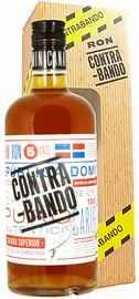 Ром «Contrabando 5 Years Old» в подарочной упаковке