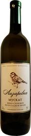 Вино столовое белое полусладкое «Лазаревка Мускат»