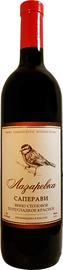 Вино столовое красное полусладкое «Лазаревка Саперави»