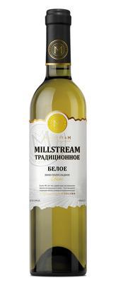 Вино столовое белое полусладкое «Millstream Традиционное Белое»