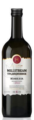 Вино столовое красное полусладкое «Millstream Традиционное Изабелла»