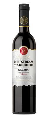 Вино столовое красное полусладкое «Millstream Традиционное Красное»
