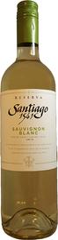 Вино белое сухое «Santiago 1541 Reserve Sauvignon Blanc» 2015 г.