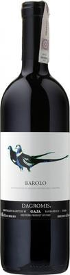 Вино красное сухое  «Barolo Dagromis, 0.375 л» 2014 г.