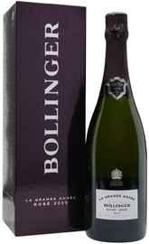 Шампанское розовое брют «Bollinger La Grande Annee Rose Brut» 2005 г., в подарочной упаковке