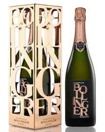 Шампанское розовое брют «Bollinger Rose Brut» 2006 г., в металлической подарочной упаковке