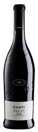 Вино красное сухое  «Canti Merlot» 2016 г.
