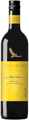 Вино красное сухое «Wolf Blass Yellow Label Merlot» 2016 г.