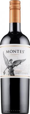 Вино красное сухое «Montes Malbec Reserva» 2013 г.