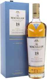 Виски шотландский «Macallan Triple Cask Matured 18 Years Old» в подарочной упаковке